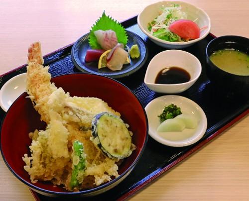 重永鮮魚店 天丼