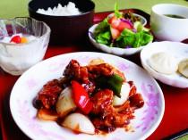 上海酒花のランチ