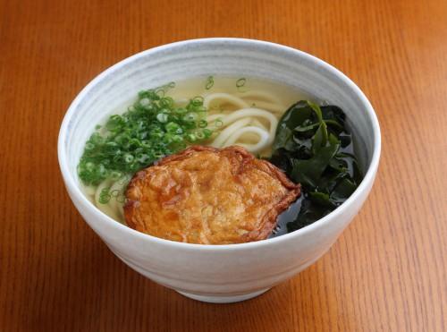 トリミング 田中の麺家「自家製まる天うどん(手作り)」